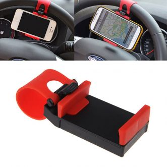 Support universel pour smartphone - Fixable volant voiture