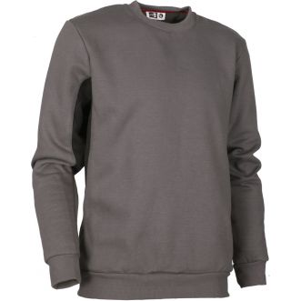 Sweat col rond - Gris