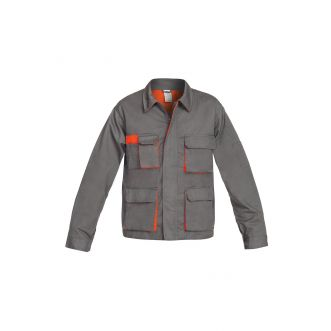 Veste de travail SIGMA - Gris/Orange