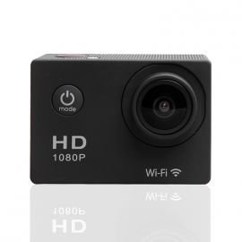 Pack Caméra WIFI 1080P Sport Action Full HD - 10 Accessoires