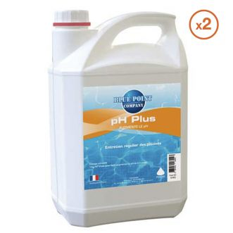 Lot de 2 Bidons de 5L de Ph Plus Liquide