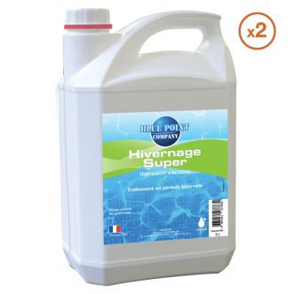 Lot de 2 Bidons de 5 L d'Hivernage Super 4 actions