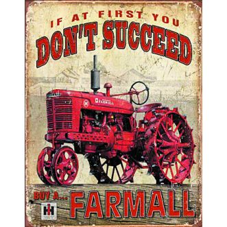 Plaque Farmall succeed  plaque us - 30x40 cm