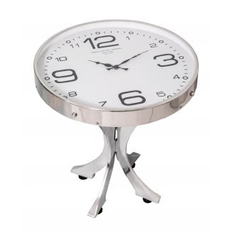Table d'appoint horloge