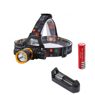 Lampe frontale LED - 600Lm