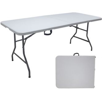 Table pliante - 8 personnes - 180 x 75 x 74 cm