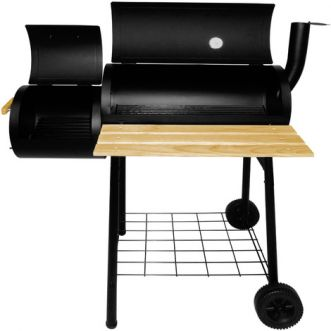 Chariot barbecue KING 2 en 1 - 115 x 58cm