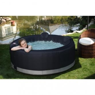 Spa rond rattan - 6 places