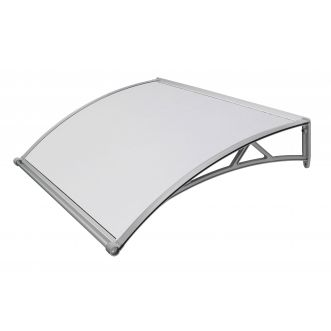 Marquise ABS - Structure grise - 90x140cm