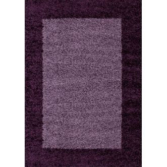 Tapis Life shaggy - Violet