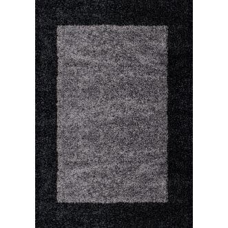 Tapis Life shaggy - Anthracite
