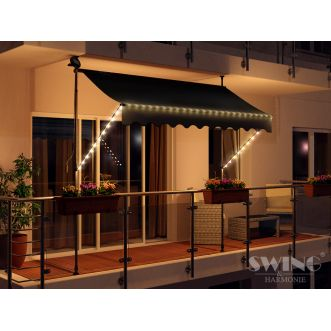 Store LED - 250 cm - Anthracite