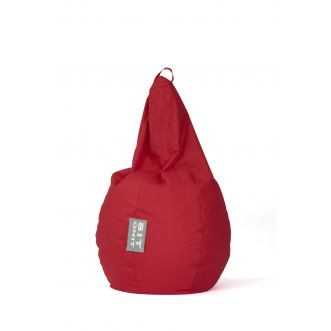 Pouf Junior Poire - Rouge