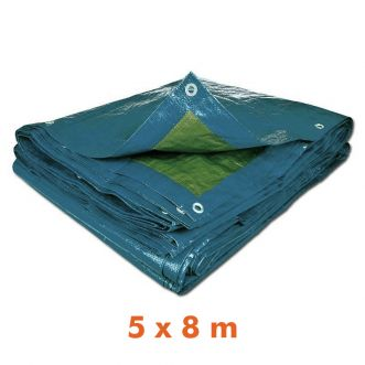 Bâche multi usage - 5 x 8 m - 70g/m²