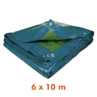 Bâche multi usage - 6 x 10 m - 70g/m²