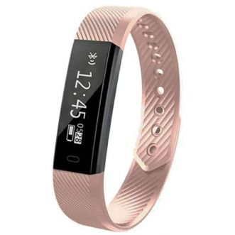 Bracelet connecté Edition Fitness - Rose