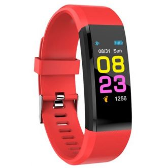 Bracelet connecté Edition Fitness Color - Rouge