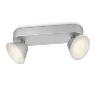 Plafonnier Tweed - 2 LED - blanc chaud