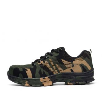 Chaussures Camouflage - Vert - Homme