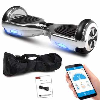 Hoverboard - 36V - 600W - Application Bluetooth - LED