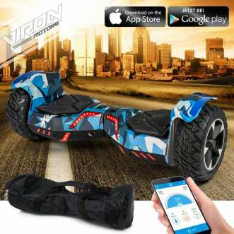 Hoverboard - 36V - 800W - Application Bluetooth - LED