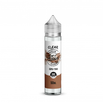 E-liquide - Café, Lait, Chantilly, Chocolat - 50mL