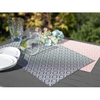 Set de de table - 29,5 x 44,5 cm - Rose Parme