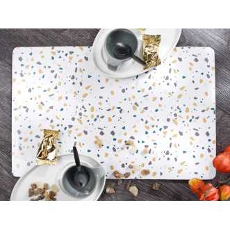 Set de table rectangulaire - 44 x 28,5 cm - Curry