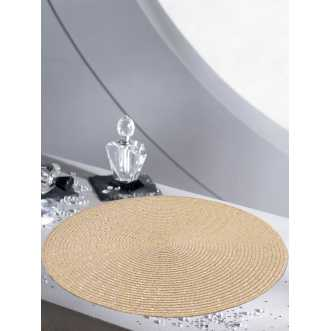 Set de table rond - Diamètre 35 cm - Ecru