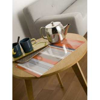 Set de table rectangulaire - 44 x 28,5 cm - Orange