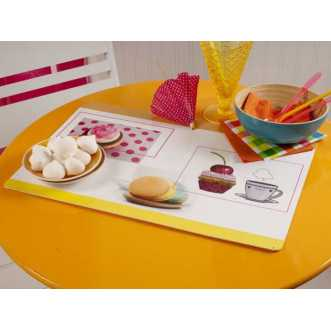 Set de table rectangulaire - 44 x 28,5 cm - Multicolore