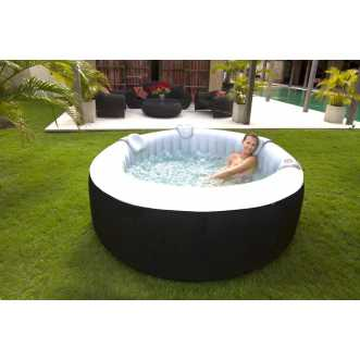 Spa gonflable rond laminé - 4 places