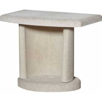 Table pour barbecue - Blanc